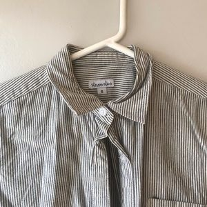 Steven Alan striped button up